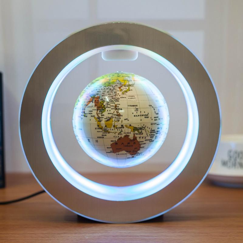 志诚发光自转磁悬浮地球仪办公室桌摆件年会创意礼品男女生日礼物