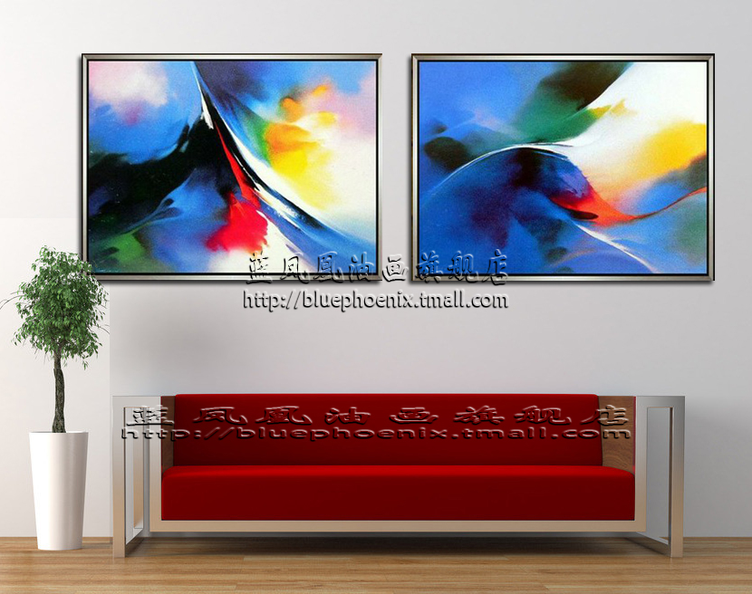buy pure hand painted oil painting living room bedroom hotel