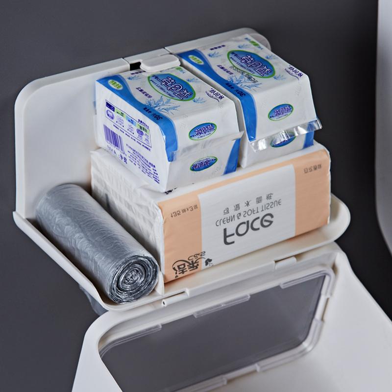 卫生间纸巾盒厕所洗手间免打孔创意家用置物架浴室卫生纸抽纸卷纸