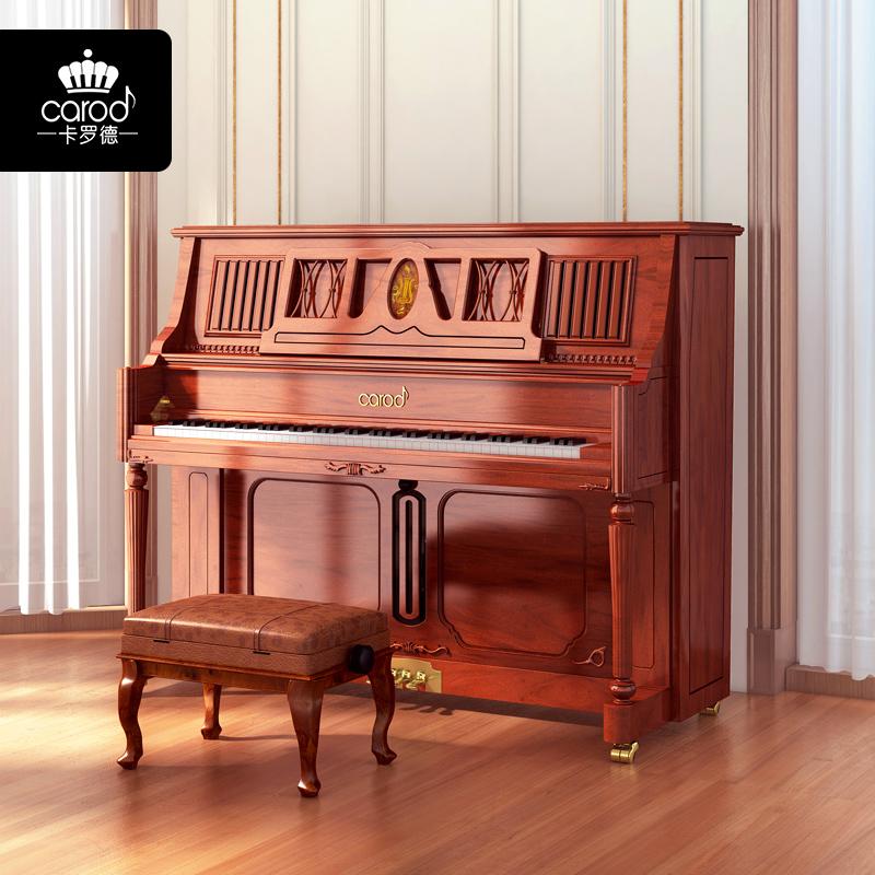 大人家用专业考级欧式高端演奏钢琴 T26 卡罗德全新立式钢琴 Carod
