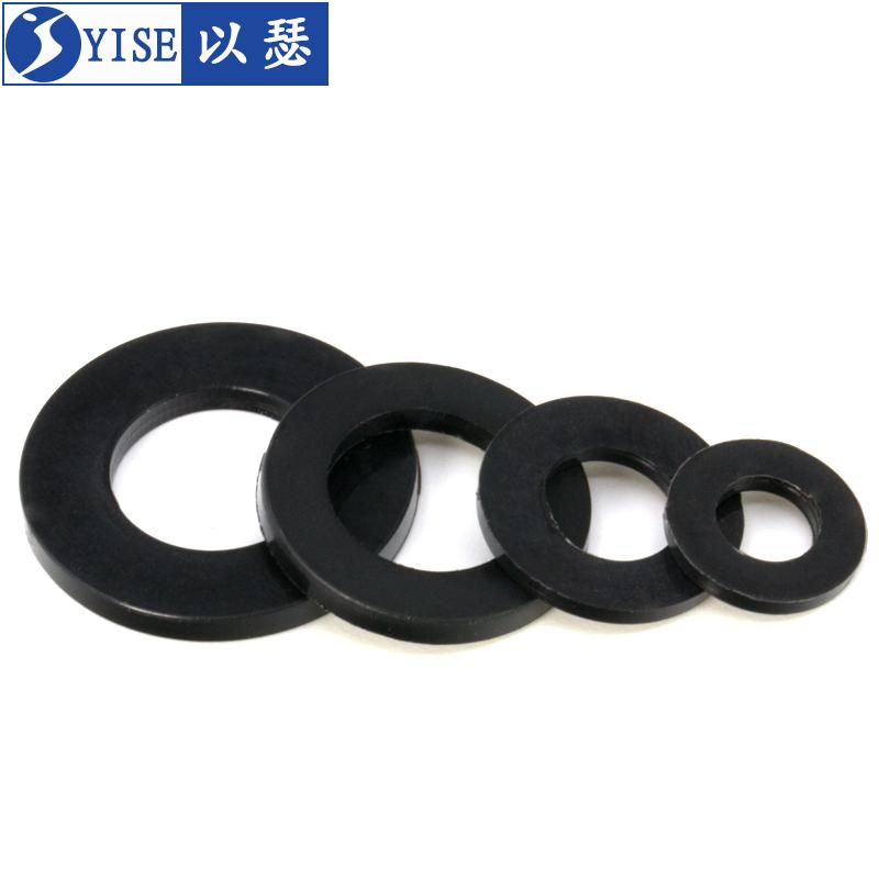 尼龙垫片塑料垫片垫圈加大绝缘塑胶圆型平垫M2M3M4M5M6M8M10M12