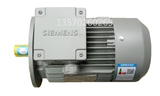 0.55kw Siemens 1LE0001-0DB22-1AA4 motor 80 base 4 pole vertical and horizontal motor can brake