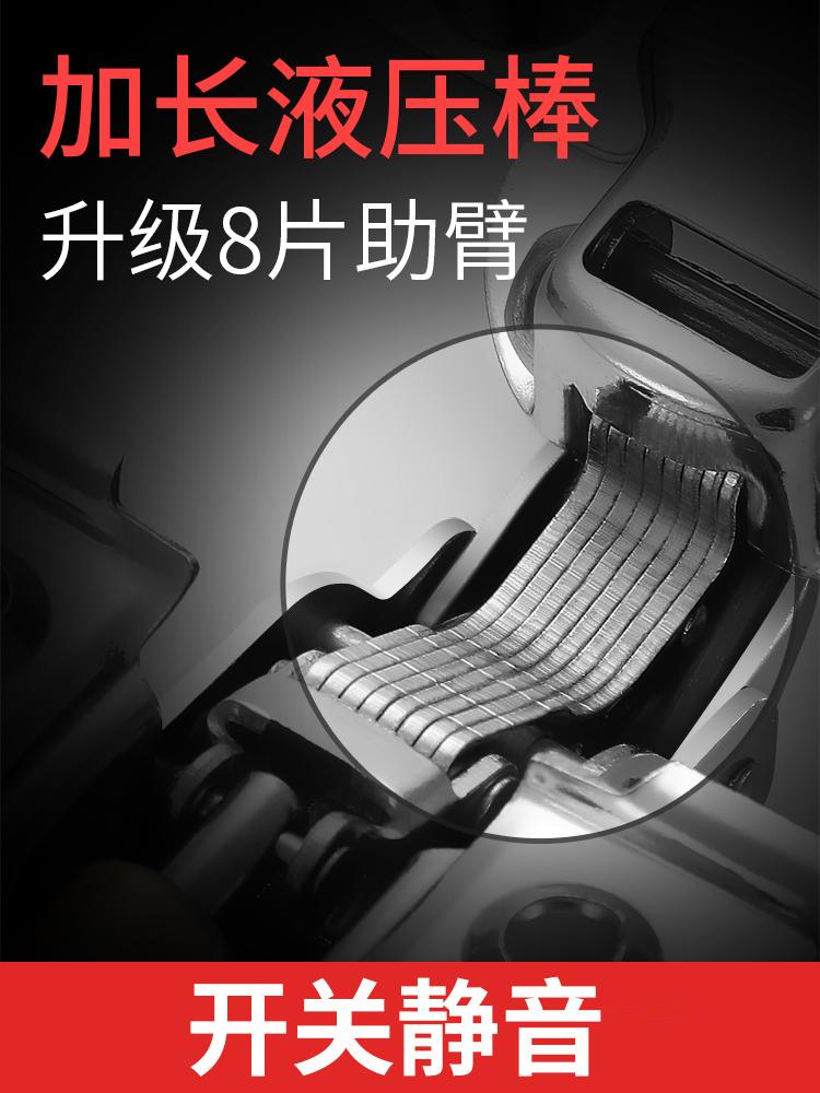 不锈钢铰链阻尼缓冲液压门铰弹簧飞机烟斗衣柜橱柜门合页中弯 304
