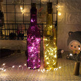 LED lights copper string light cork glass bottles battery bedroom lamp Girl interatrial disposed ins decorative lanterns