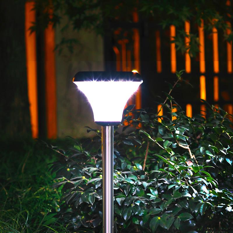 赫帅太阳能灯户外庭院灯家用草坪灯插地灯防水花园超亮新农村路灯