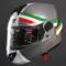 德国坦克Tanked Racing摩托车头盔防雾揭面盔双镜片蓝牙耳机男女