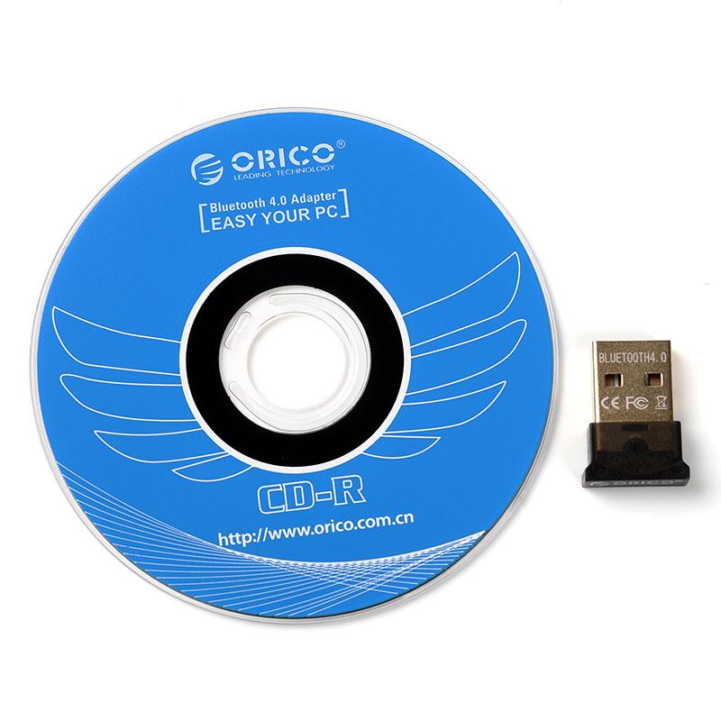 ORICO蓝牙适配器4.0笔记本台式电脑USB音响音频高速发射器接收器