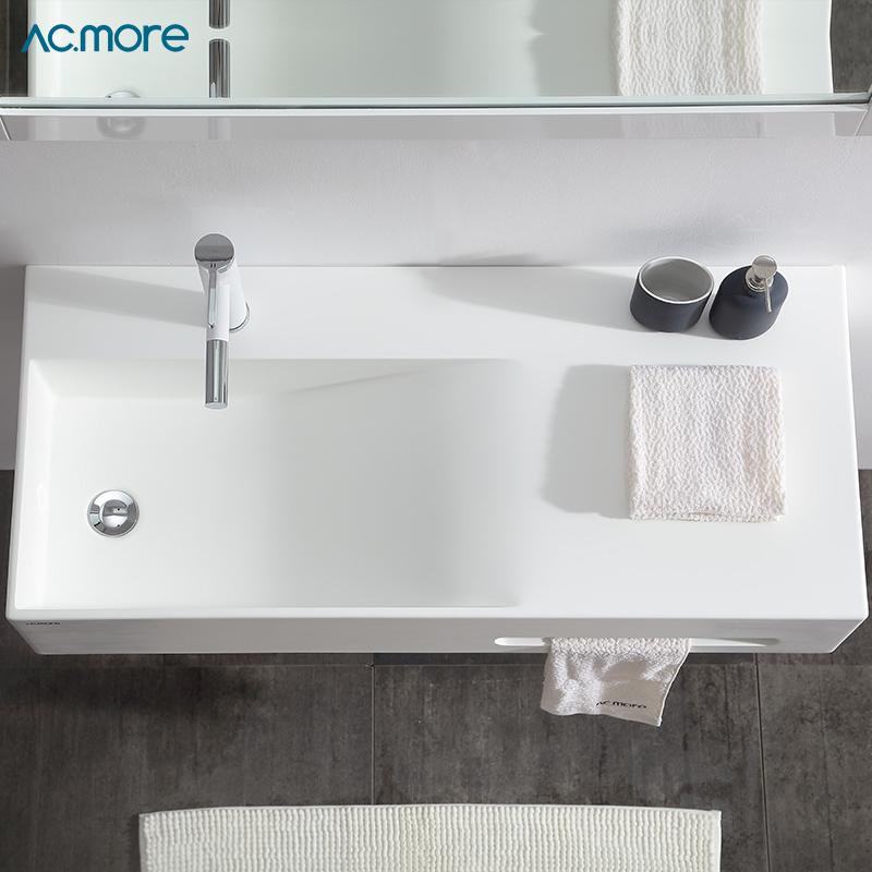 卫生间洗手盆小户型面盆阳台迷你挂盆小号洗手池家用挂墙式洗脸盆