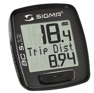 ㊣原裝正品 摺疊自行車專用 SIGMA BC5.12 自行車碼錶