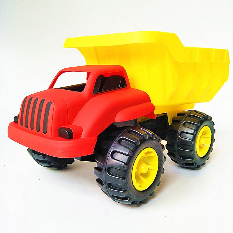 建雄沙滩塑料玩具车运载卸斗车包邮玩沙装车漏沙沙漏儿童玩具工具