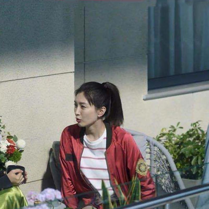 三十而已江疏影王曼妮同款女2020秋款红色韩版夹克短外套棒球服潮