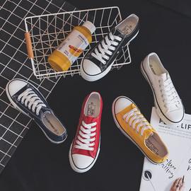 百搭新款帆布鞋女小白布鞋ulzzang板鞋学生ins潮女鞋子2020年春季