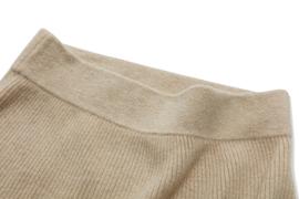 韵歌羊绒裙子女中长款半身裙100%山羊绒纯色修身外搭包臀裙C25314