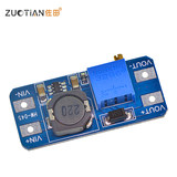 2a booster plate adjustable boost DC-DC power supply module wide input voltage 2 / 24V L 5/9/12 / 28V