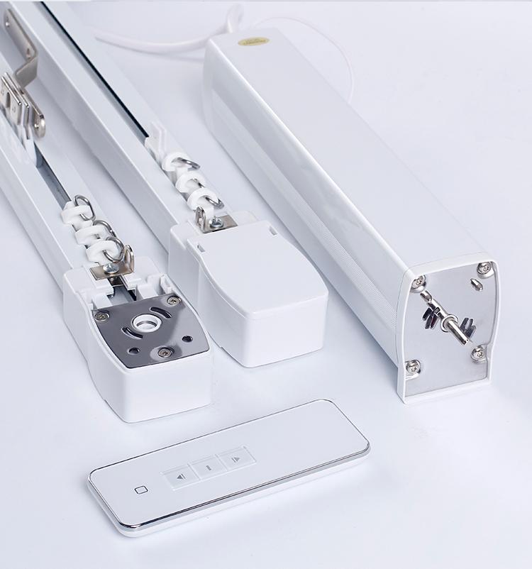 电动窗帘轨道智能家居自动窗帘智能开合帘手机遥控小米专用轨道