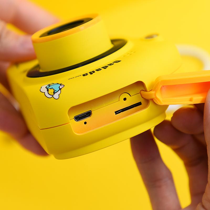 Exj网红儿童数码相机可爱实用拍照打印小型单反迷你抖音同款礼物