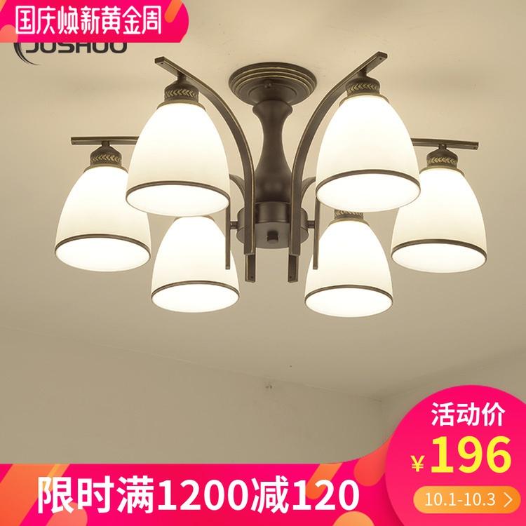 光卧室灯现代简约大气餐厅灯具