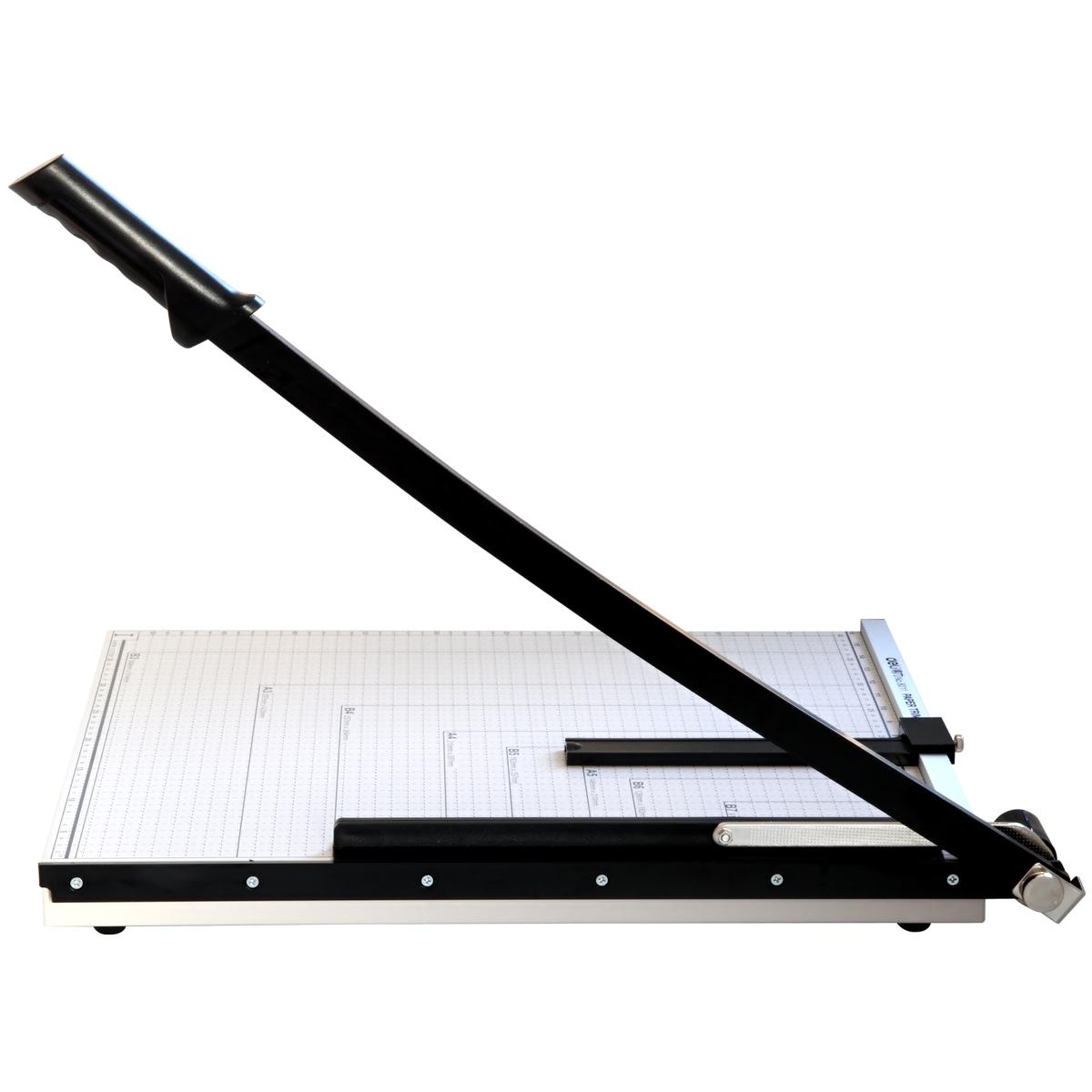 得力切纸机8011 A3手动钢制裁纸刀 锋利加厚刀片照片切纸板