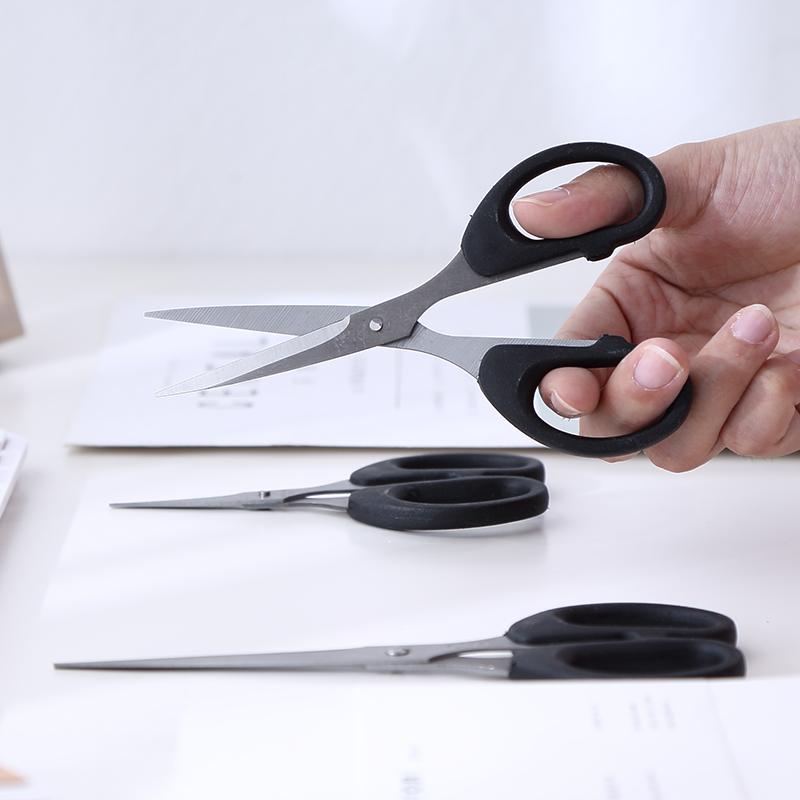 不锈钢剪刀家用裁缝剪厨房办公学生裁纸大号裁缝纫剪子裁剪小剪刀