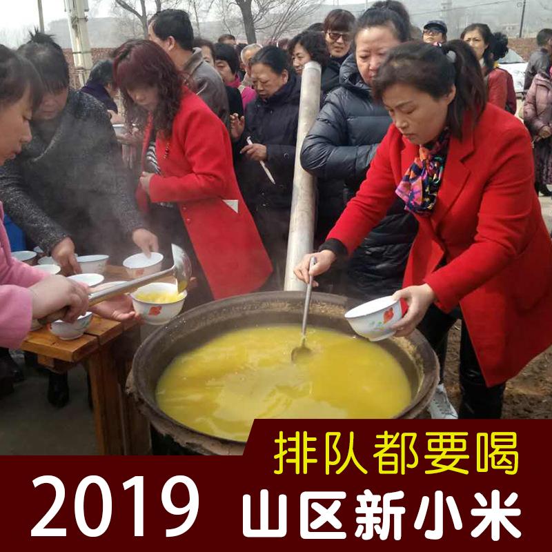2019年新米 山西沁州黄小米 农家自种小黄米月子米小米粥糯5斤装