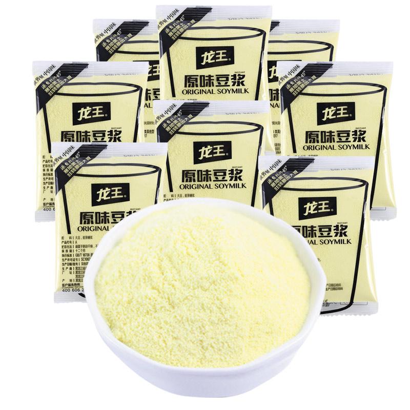龙王豆浆粉30g*16包原味甜味早餐商用家用豆粉冲饮速溶豆浆粉