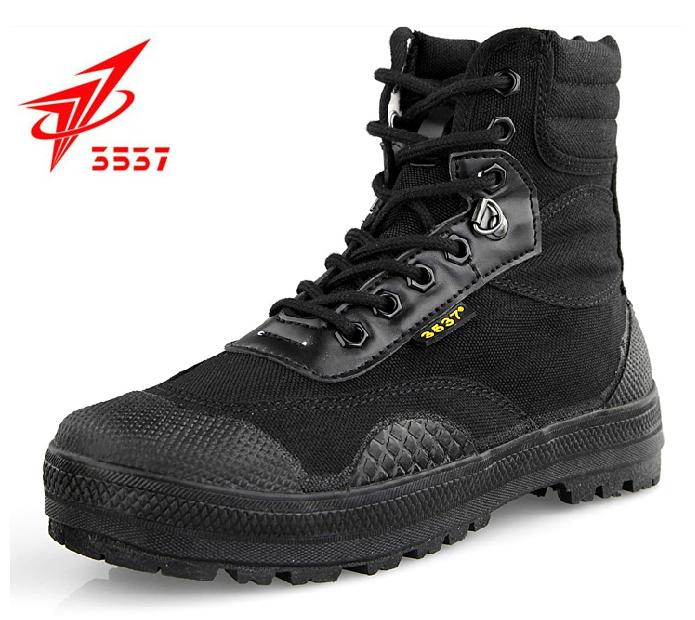 正品3537突击鞋高腰作战鞋特种兵高帮帆布鞋男军鞋军靴户外登山鞋