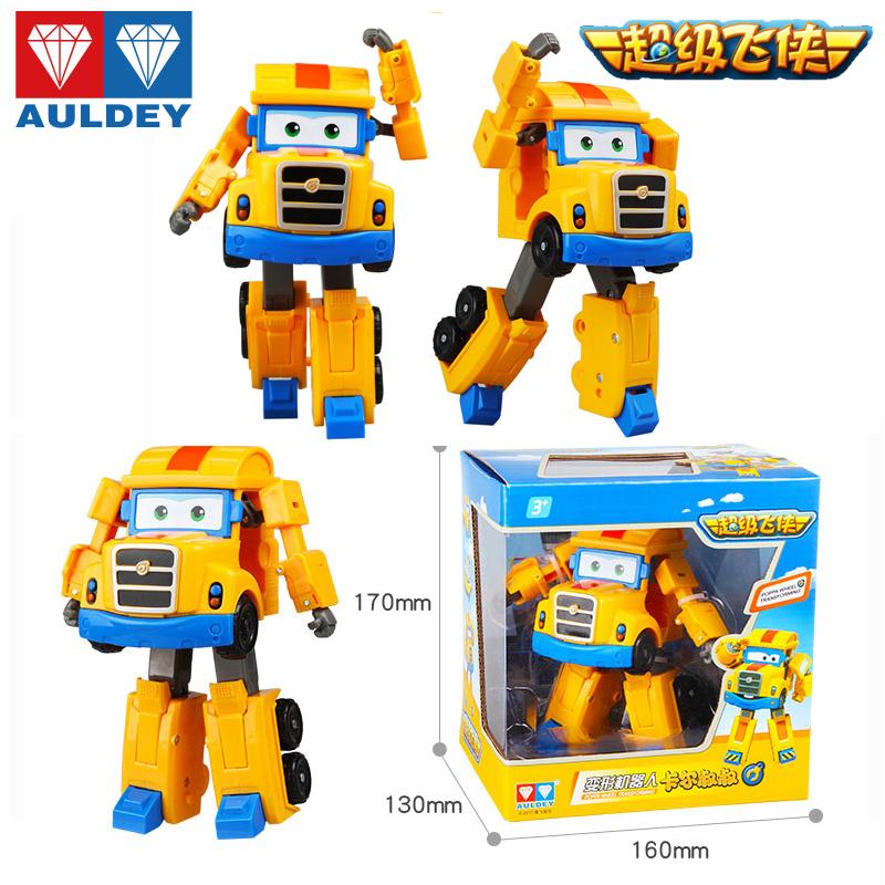 奥迪双钻超级飞侠玩具套装全套大小号乐迪小爱变形机器人金刚男孩
