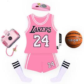 儿童篮球服套装男童幼儿园小学生训练比赛服女童男孩球衣纯棉包邮