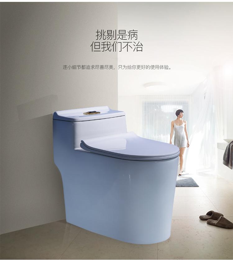 元匠正品马桶卫浴超漩虹吸式家用座便器节水静音大口径坐便器坐厕