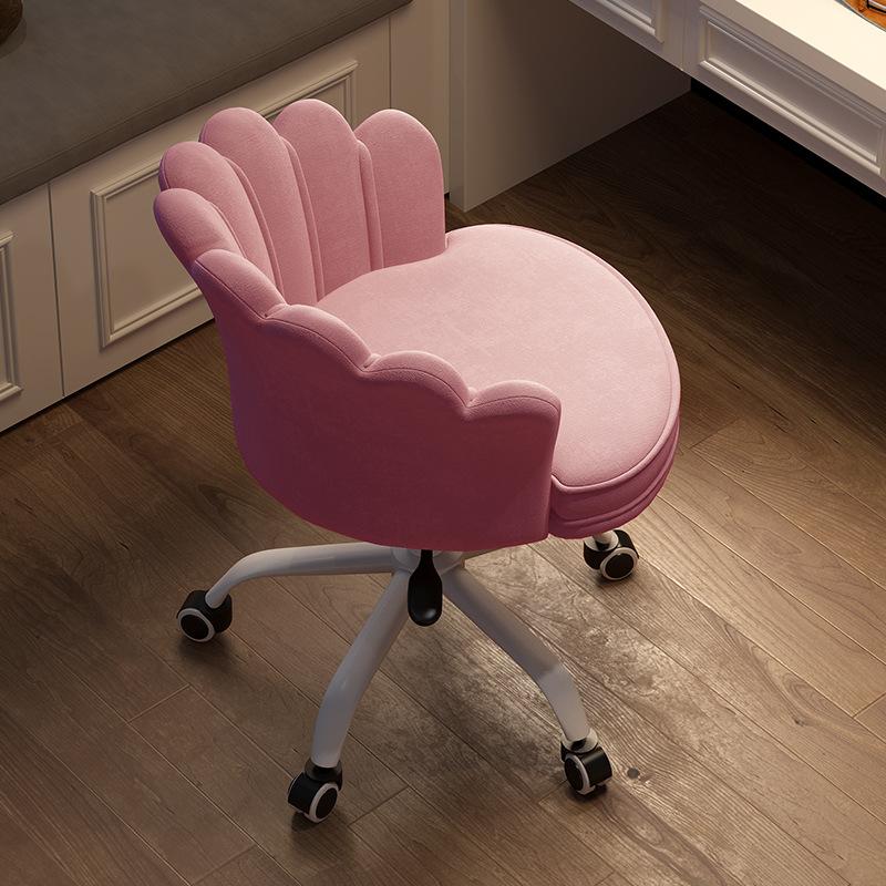 电脑椅学生沙发椅书房美甲多用网红椅可升降旋转办公椅椅舒适人体高清大图