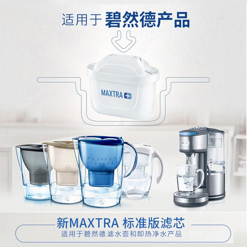 德国碧然德滤芯通用brita滤水壶Maxtra新升级三代净水器滤芯