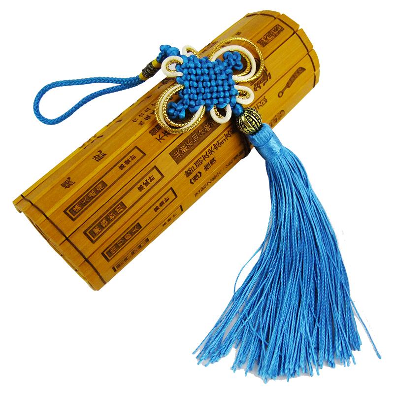瀚宇东方 金边线中国结挂件出国留学特色小礼品 送老外家居挂件