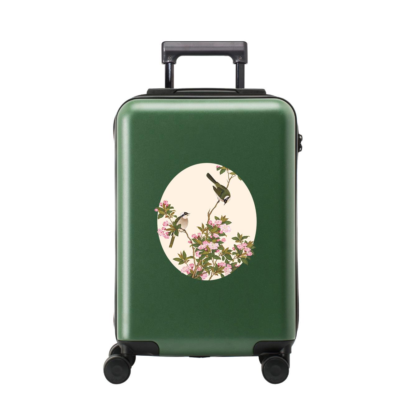 不莱玫X故宫宫苑20寸行李箱女小清新网红轻便24拉杆箱登机旅行箱