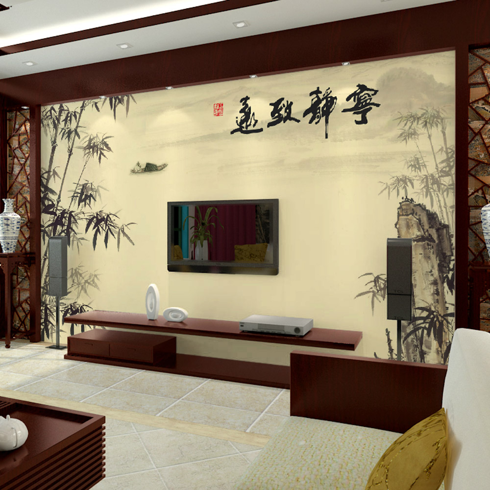 Buy Ancient chinese tv background wallpaper murals wallpaper the ...