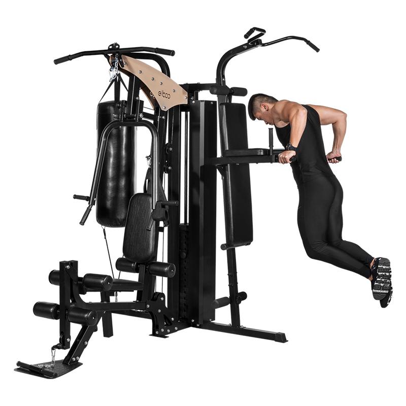 德国益步P6大型三人站家用款力量综合训练套装健身房运动健身器材