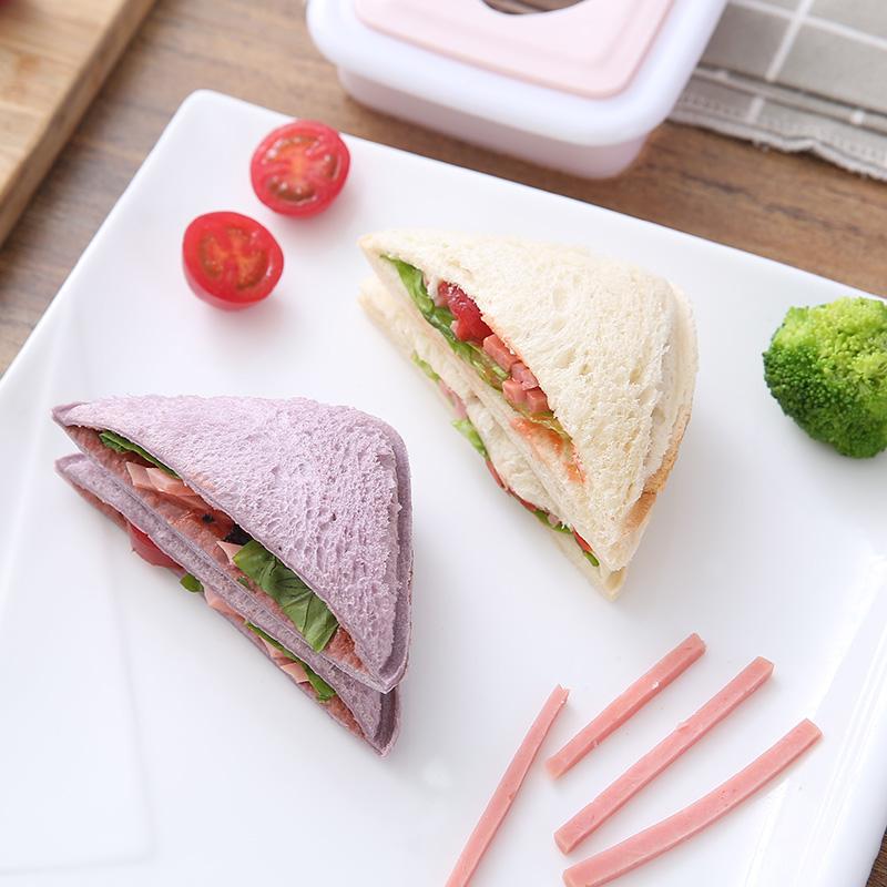创意三明治制作器口袋面包便当吐司盒模具日式DIY便携饭团面包机