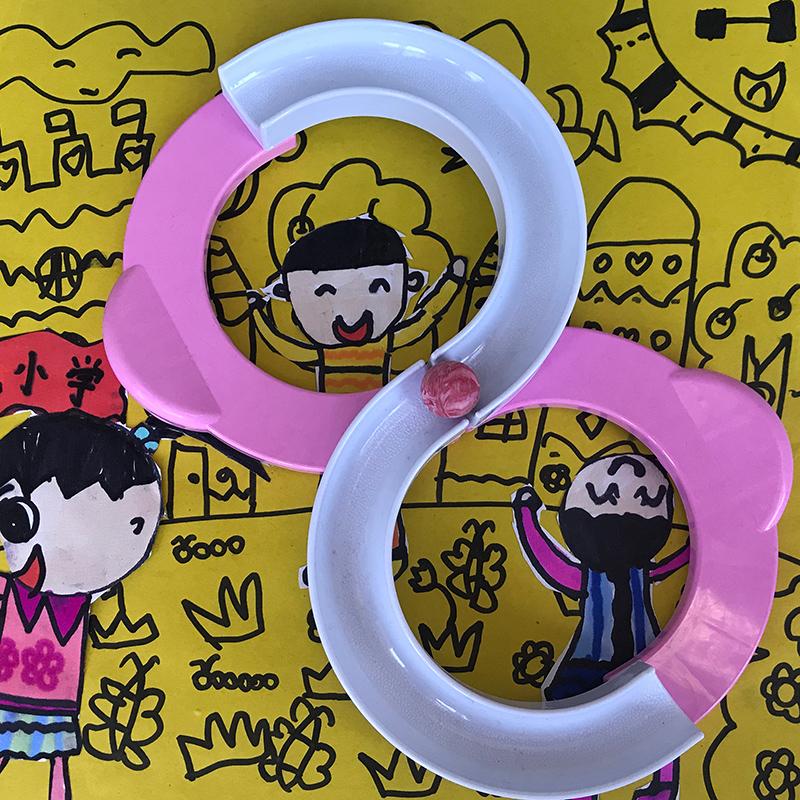 88轨道球专注力训练玩具八八轨道感统注意力训练器材儿童早教家用
