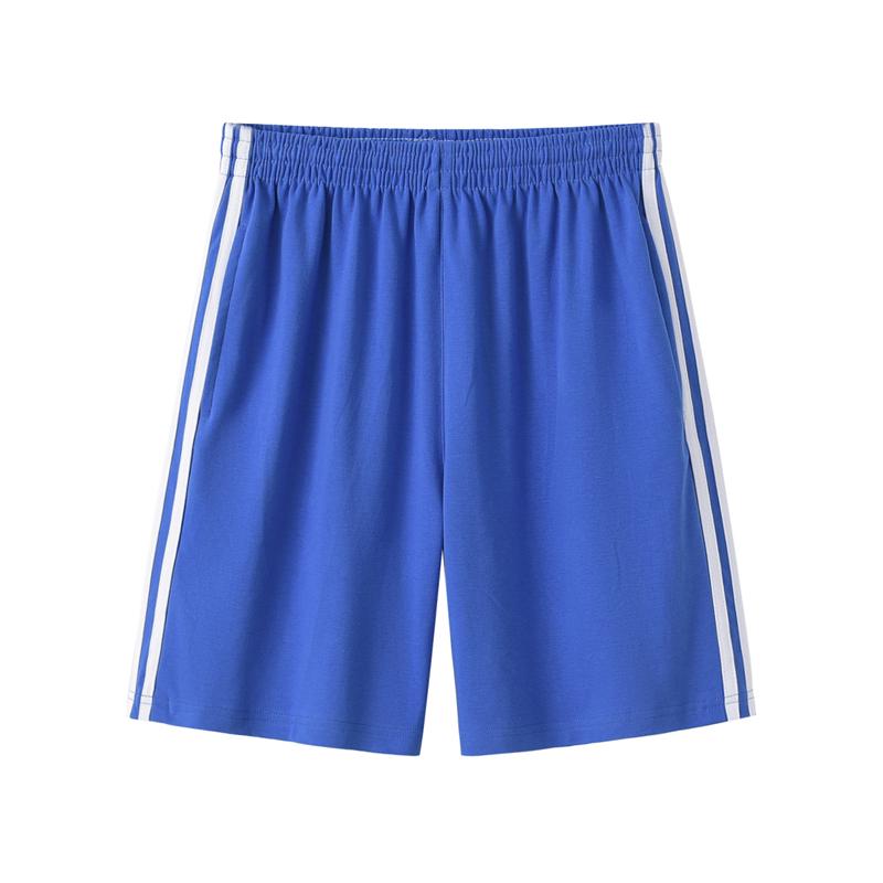 深圳校服 中学生男女夏装短裤 运动服校裤子纯棉统一正品牌有绳子