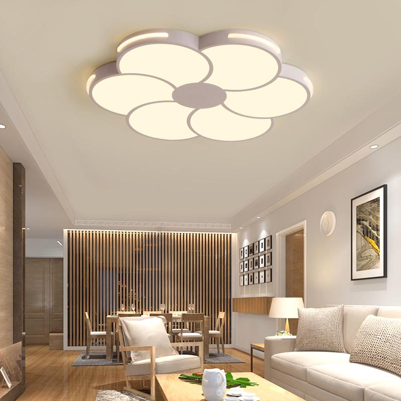 新款创意圆形led吸顶灯具 卧室灯现代简约客厅灯餐厅灯饰书房灯