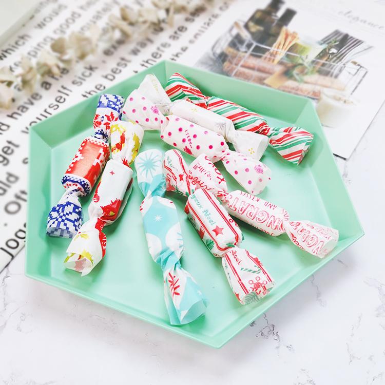 烘焙牛轧糖 糖果纸包装纸 糖果纸糖纸油纸500张包