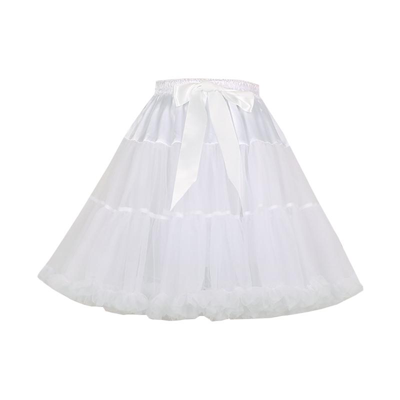 日常可爱蓬蓬Lolita基础百搭无骨软绵绵云朵纱撑软撑裙撑