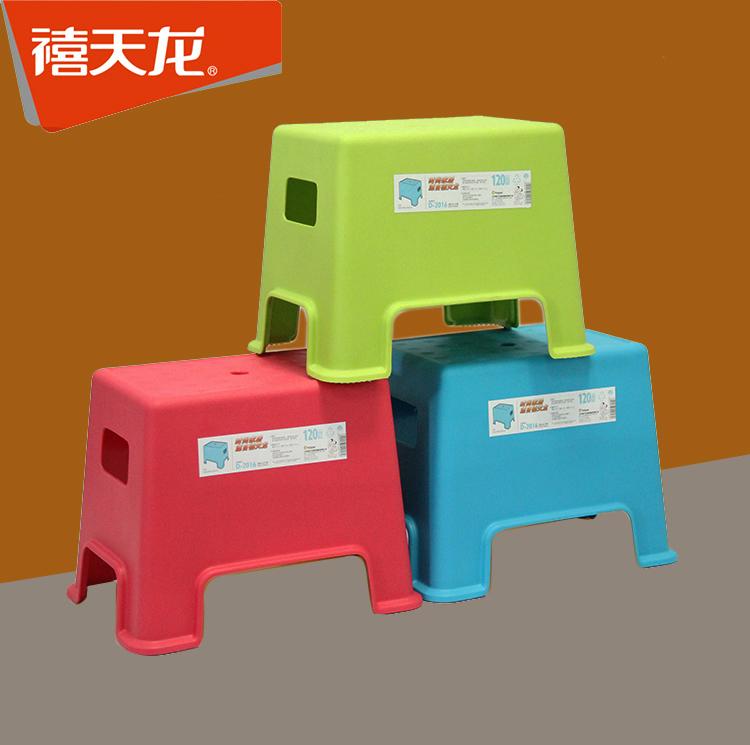 禧天龍衛生間茶几凳子洗澡凳老人兒童防滑家用塑料小凳子加厚浴凳