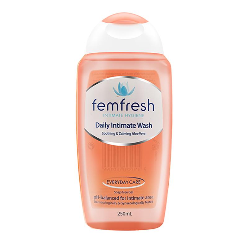 芳芯femfresh女性孕妇私处护理液 芳心私密清洗液 止痒外阴 男士