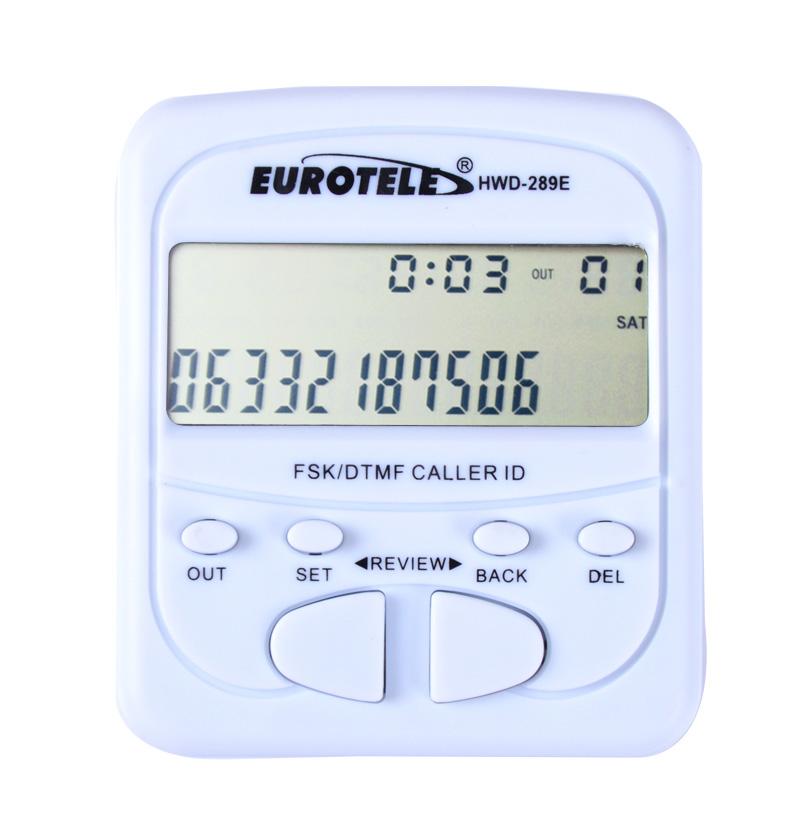 全新来电显示器 来电显示盒 电话号码显示 字体大 免电池