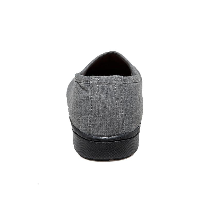 台芭黎春季新品简约僧鞋缝线棉布保暖加厚和尚鞋懒人橡胶居士鞋
