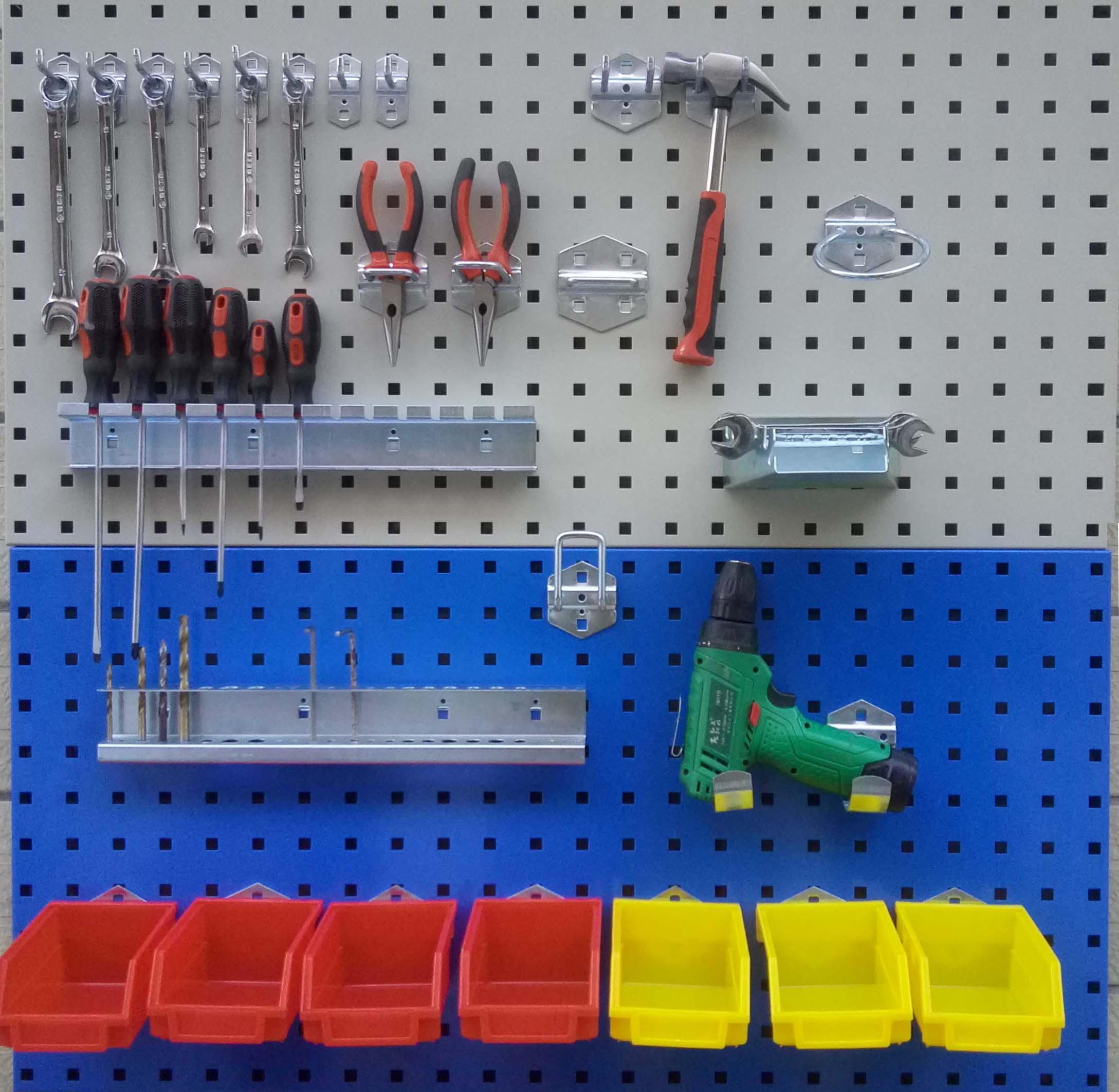 车间维修工具架工具墙挂板上墙货架挂钩五金产品展示架工具挂架