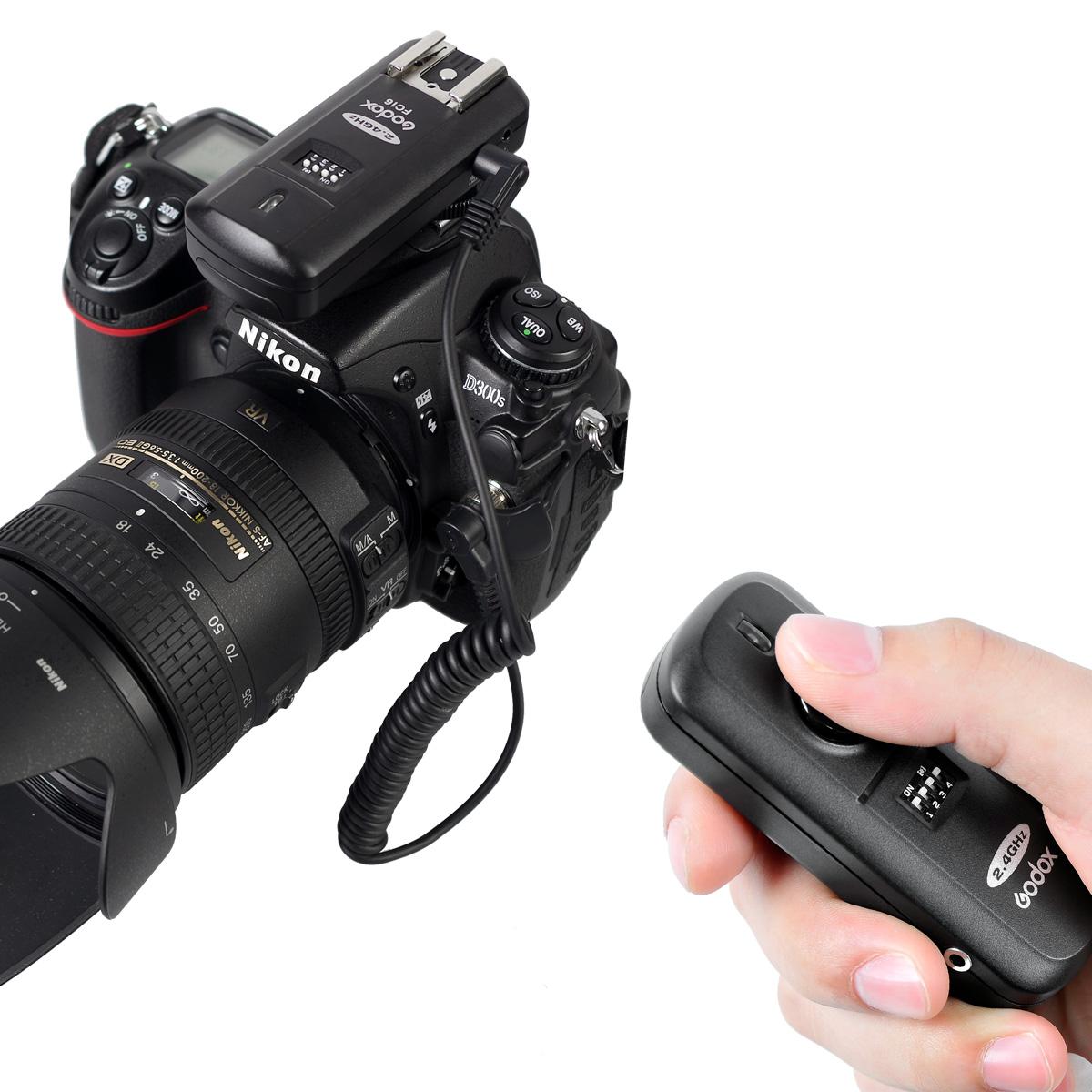 神牛FC16引闪器 适用佳能相机 无线快门线2.4G外怕灯机顶灯影视灯