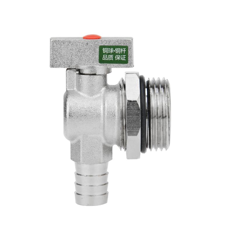 暖气片水龙头 寸全铜大流量泄水阀门 1 地暖分水器放水阀暖气排水阀