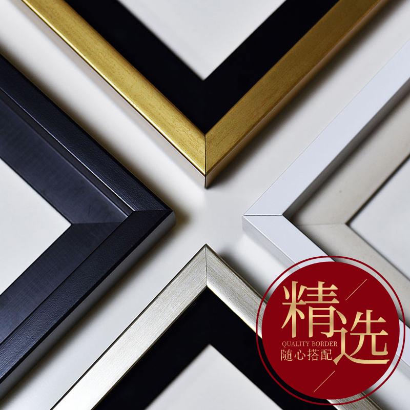 新中式客廳裝飾畫沙發背景墻掛畫三聯畫現代純手繪油畫山水畫壁畫