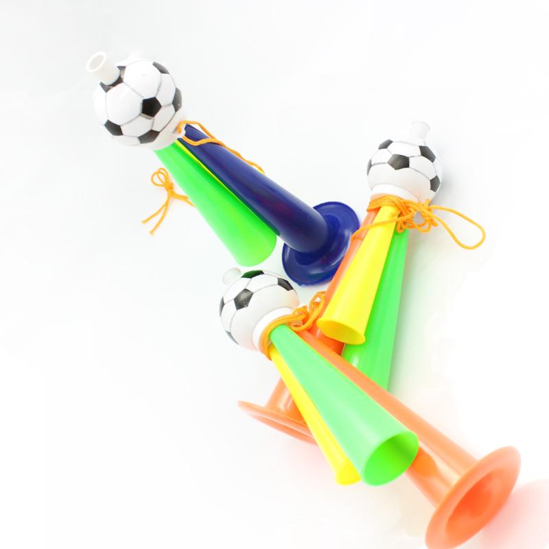 足球喇叭加油小喇叭儿童活动大号三音喇叭比赛助威玩具地摊货批发